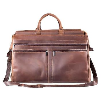 bolsa de viagem couro
