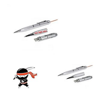 Caneta Pen Drive Laser