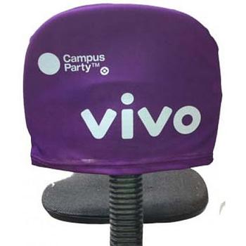 Capa de cadeira personalizada para eventos
