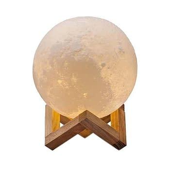 Abajur de Lua Personalizado