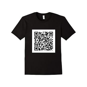 Camiseta Personalizada QR Code