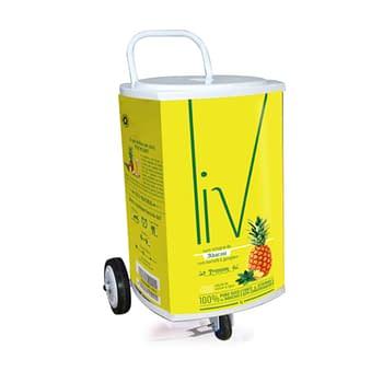 Carrinho Cooler Quadrado Personalizado