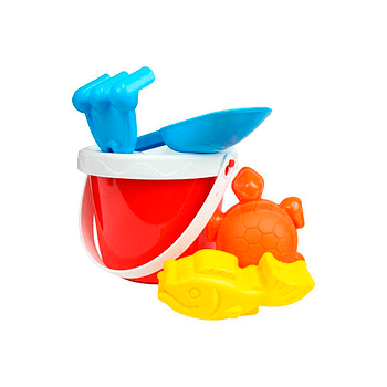 Kit baldinho de praia personalizado