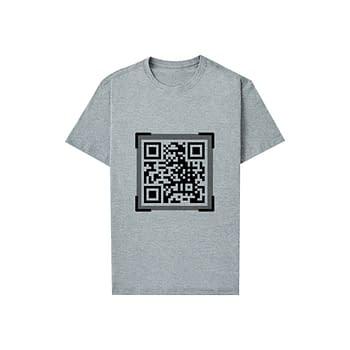 Camiseta Brindes QR Code
