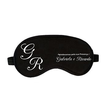 Mascara para Dormir Personalizada Casamento