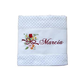 Toalha de Banho Bordada Personalizada