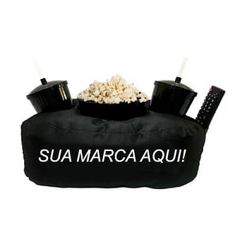 Kit Almofada Porta Pipoca Personalizado
